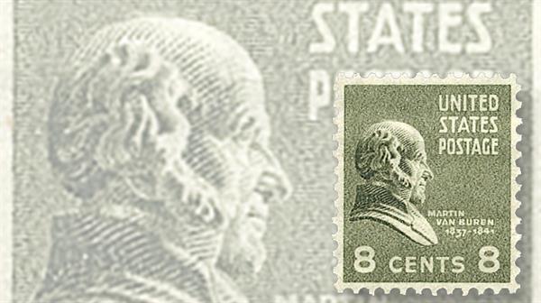 president-martin-van-buren-stamp
