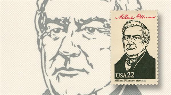 president-millard-fillmore-stamp