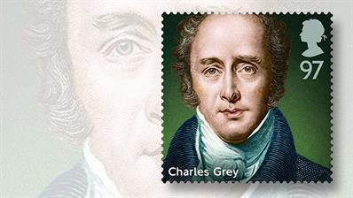 prime-minister-charles-grey-stamp