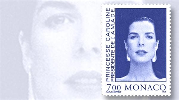 princess-caroline-monaco-stamp