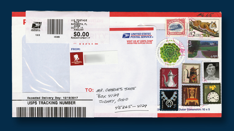a tale of a waterlogged priority mail linnscom