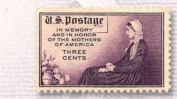 purple-three-cent-mothers-of-america-commemorative-stamp