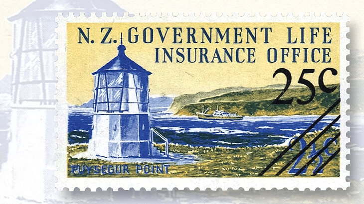 puysegur-point-lighthouse-stamp