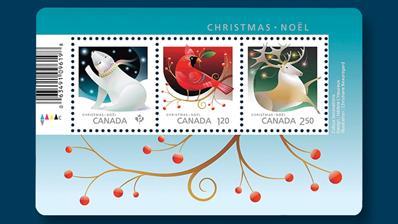 pva-gum-christmas-animals-stamps