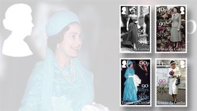 queen-birthday-90-stamps-tristan-da-cunha