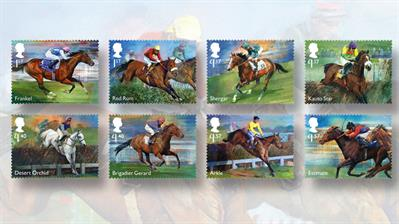racehorse-legends-stamp