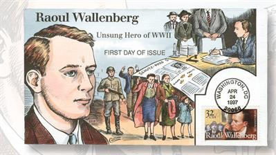 raoul-wallenberg-first-day-cover