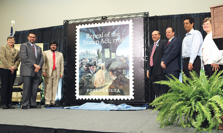 repeal-of-stamp-act-first-day-ceremony