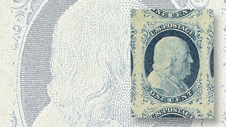 robert-siegel-auction-benjamin-franklin-1851-stamp-jumbo-margins-2015