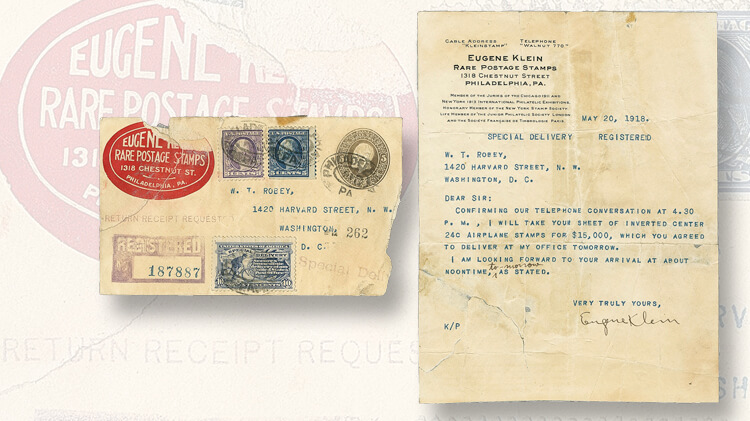 robey-letter-discovery-jenny-invert-stamps