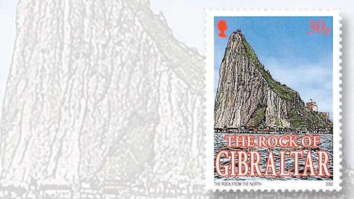 rock-of-gibraltar-stamp-limestone