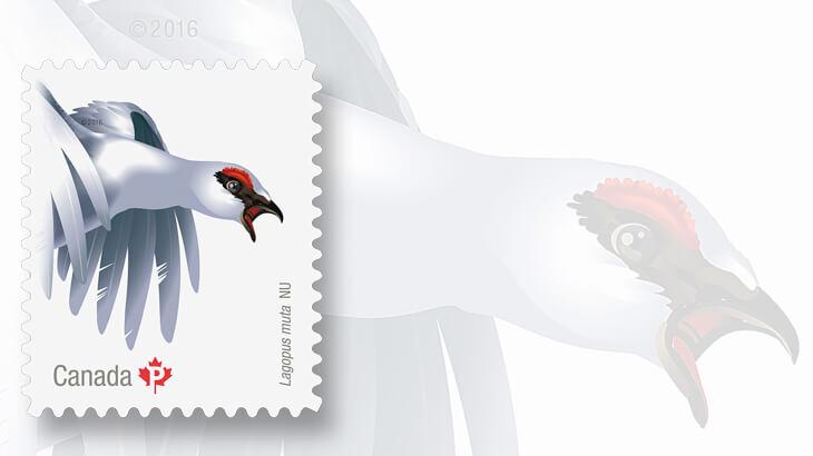 rock-ptarmigan-canada-stamp