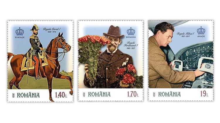 romania-2021-kings-carol-ferdinand-michael-stamps