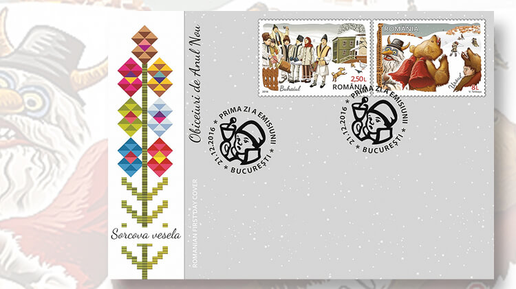 romania-new-year-customs-stamps