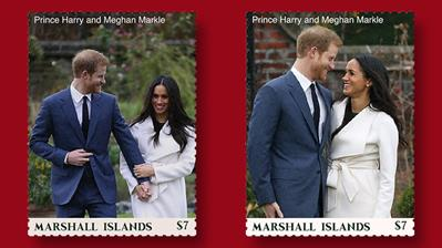 royal-engagement-seven-cent-stamps-marshall-islands-post