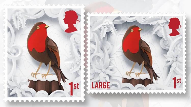 royal-mail-christmas-robin-redbreast-stamp