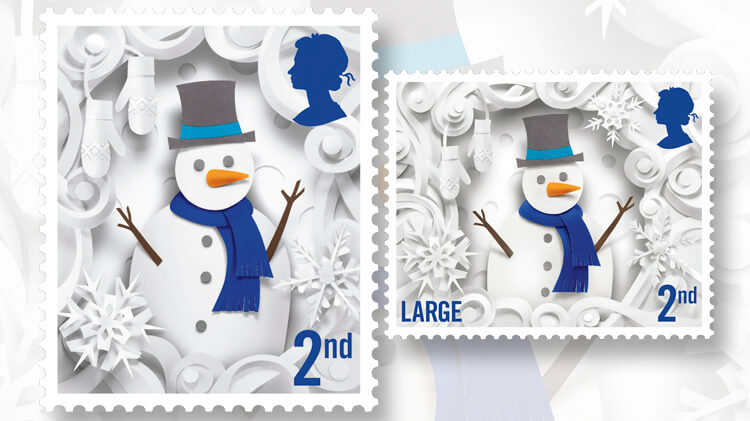 royal-mail-christmas-snowman-stamps