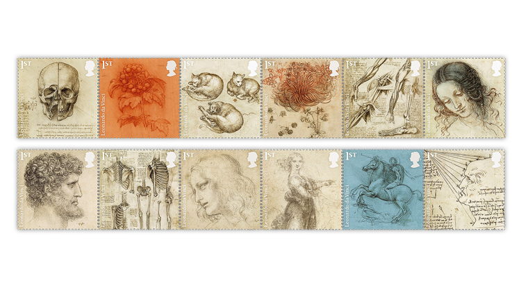 royal-mail-da-vinci-stamps