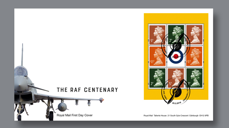 royal-mail-first-day-cover-raf-centenary