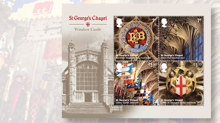 royal-mail-st-georges-chapel-souvenir-sheet
