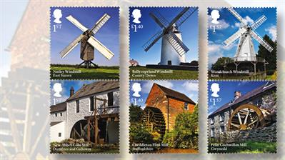 royal-mail-windmills-watermills-stamps