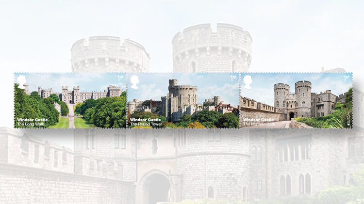royal-mail-windsor-castle-exterior-stamps