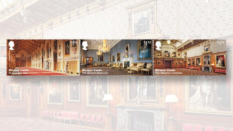 royal-mail-windsor-castle-interior-stamps