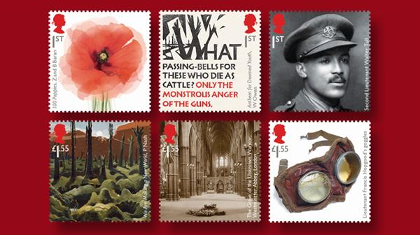 royal-mail-wwi-1918-set