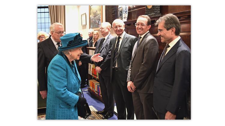 royal-philatelic-society-london-president-richard-stock-mystic-stamp-co-don-sundman