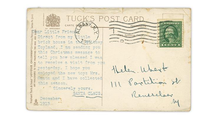santa-claus-1915-toyland-albany-new-york-postcard-message