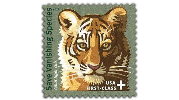 Save Vanishing Species semipostal stamp
