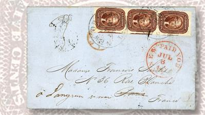 schuyler-rumsey-auction-sescal-1857-folded-letter-1856-thomas-jefferson-stamp