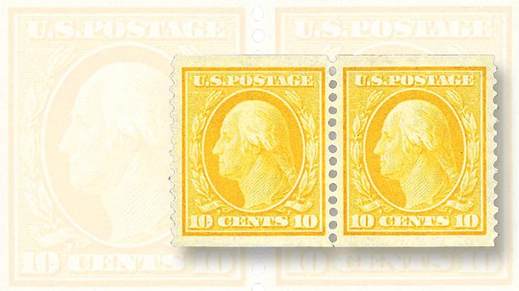 schuyler-rumsey-westpex-auction-washington-franklin-coil-pair
