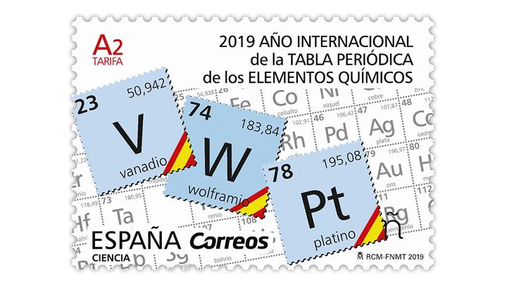 science-stamp-spain