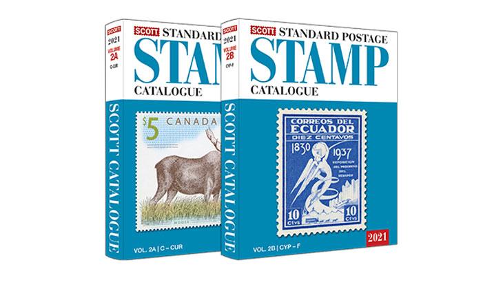 scott-2021-stamp-catalog-volume-two
