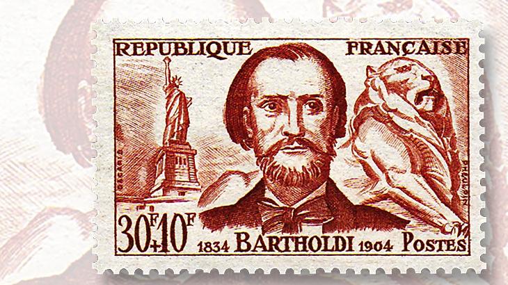 sculptor-frederic-bartholdi-stamp