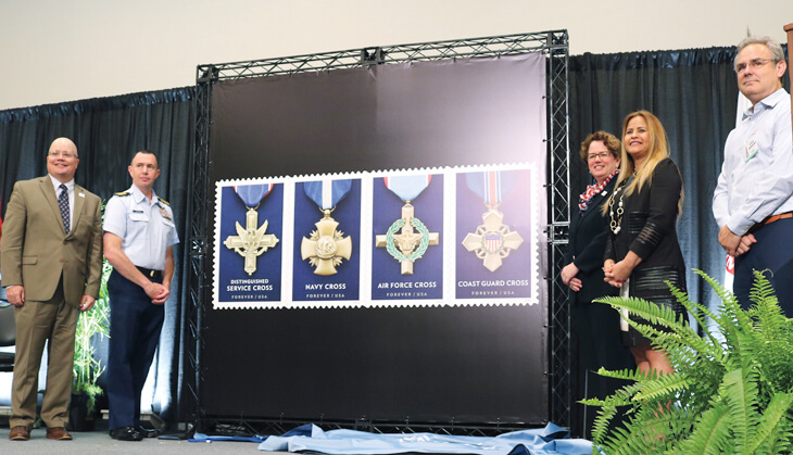service-medals-stamps-unveiling