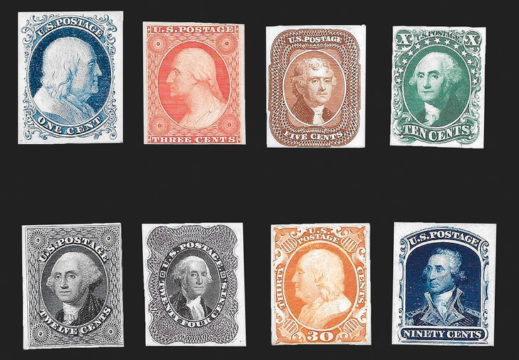 set-1875-reprints-1857-60-stamp-issue