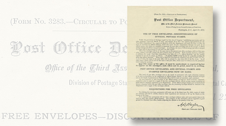 siegel-auction-1879-circular-official-stamps-penalty-envelopes-huggins-collection