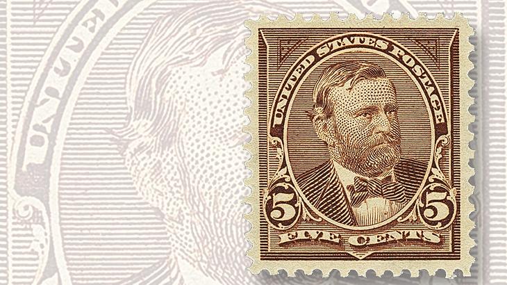 siegel-auction-1895-grant-stamp-bureau-issue