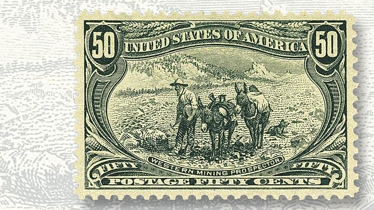 siegel-auction-western-mining-prospector-stamp-graded-superb