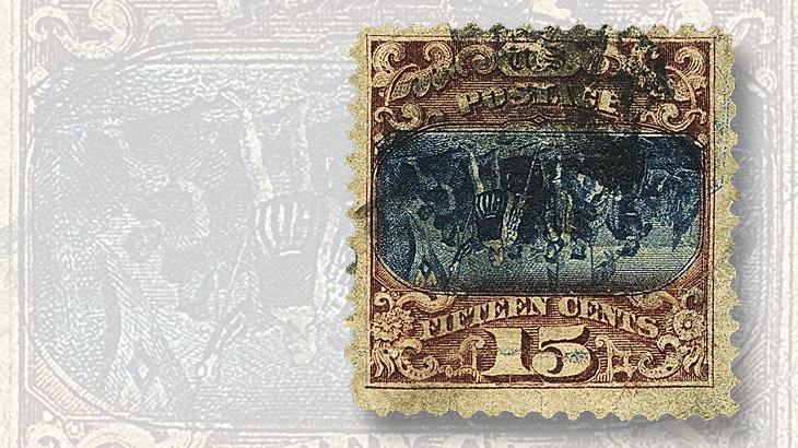 siegel-us-1869-15c-vignette-doubled-inverted