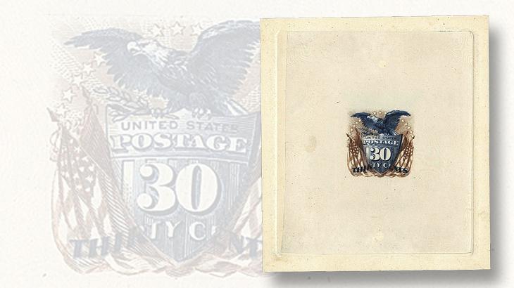 siegel-us-1869-30c-large-die-trial-color-proof