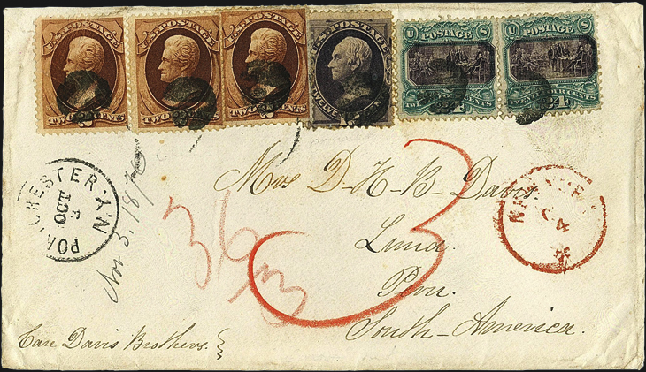 siegel-us-six-1869-1870-stamps-triple-rate