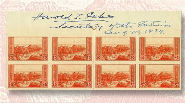 signed-mint-arrow-blocks-united-states-1933-national-parks-issue