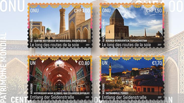 silk-roads-uzbekistan-turkmenistan-iran-turkey-united-nations-world-heritage-stamps