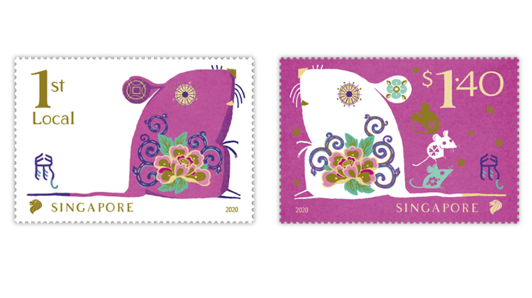 singapore-2020-year-of-the-rat-stamps