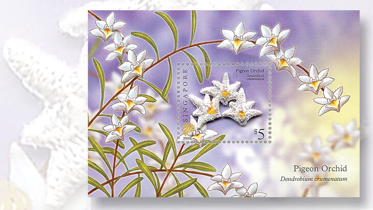 singapore-embroidered-flower-souvenir-sheet