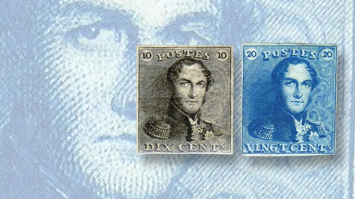 sismondo-belgium-epaulettes-first-stamp-issue