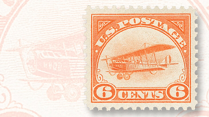 six-cent-curtiss-jenny-airmail-stamp